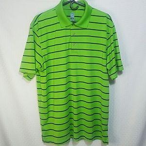 Mens PGA tour airflux golf shirt size XL